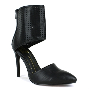 Pointy Toe With Ankle Wrap