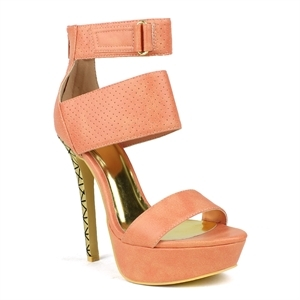 Three Strap Heel